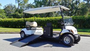 Connect Wheelchair Drivable Golf Cart