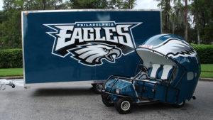 Eagles Golf Cart