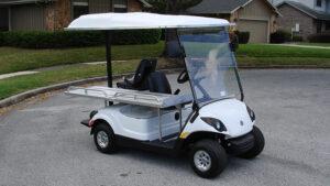 Scout Mini-Ambulance Golf Cart