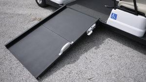 Wheelchair Golf Cart Ramp